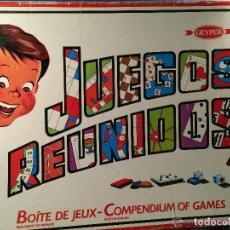 Juegos de mesa: CAJA REUNIDOS GEYPER 45 INCOMPLETA. Lote 112261691