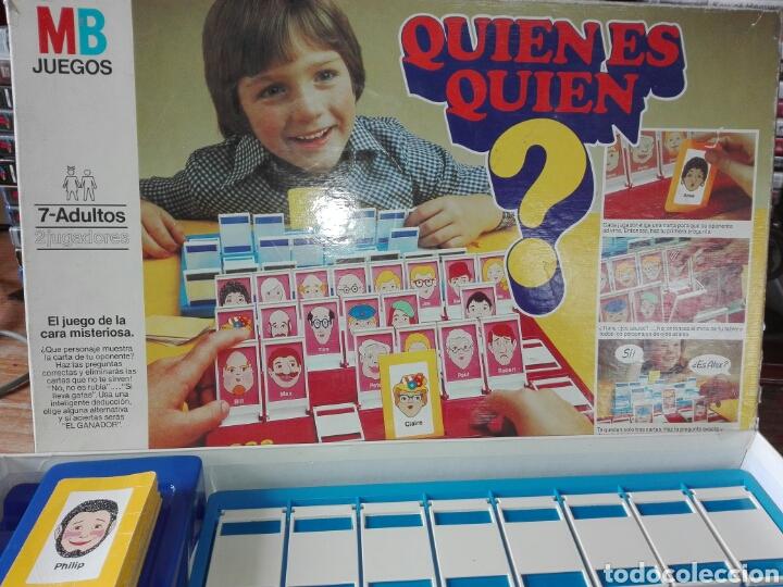 Quien Es Quien Mb 1982 Leer Antes Juego De Mesa Comprar Juegos De