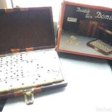Juegos de mesa: MALETÍN DOMINO AÑOS 80/90 A ESTRENAR. Lote 176797542