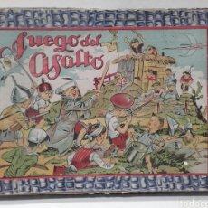 Juegos de mesa: EL JUEGO DEL ASALTO POR ENRIQUE BORRAS, AÑOS 40-50, LA CAJA CON USO, MIDE 33 X 22 CM. Lote 112418118