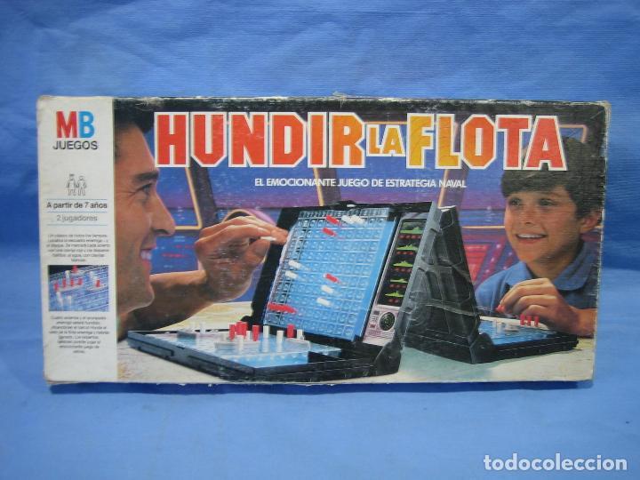 JUEGO DE MESA HUNDIR LA FLOTA DE MB (Juguetes - Juegos - Juegos de Mesa)