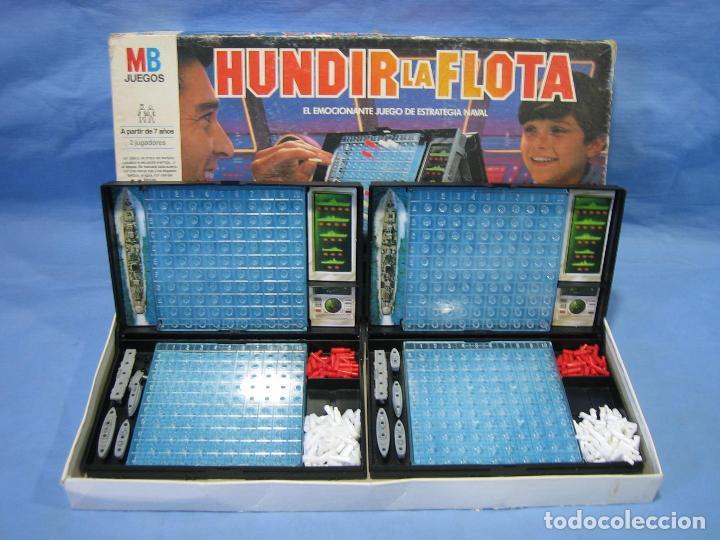 Juegos de mesa: Juego de mesa Hundir la flota de MB - Foto 7 - 112431423