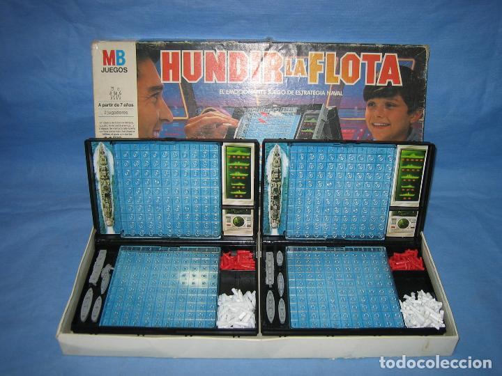 Juegos de mesa: Juego de mesa Hundir la flota de MB - Foto 8 - 112431423