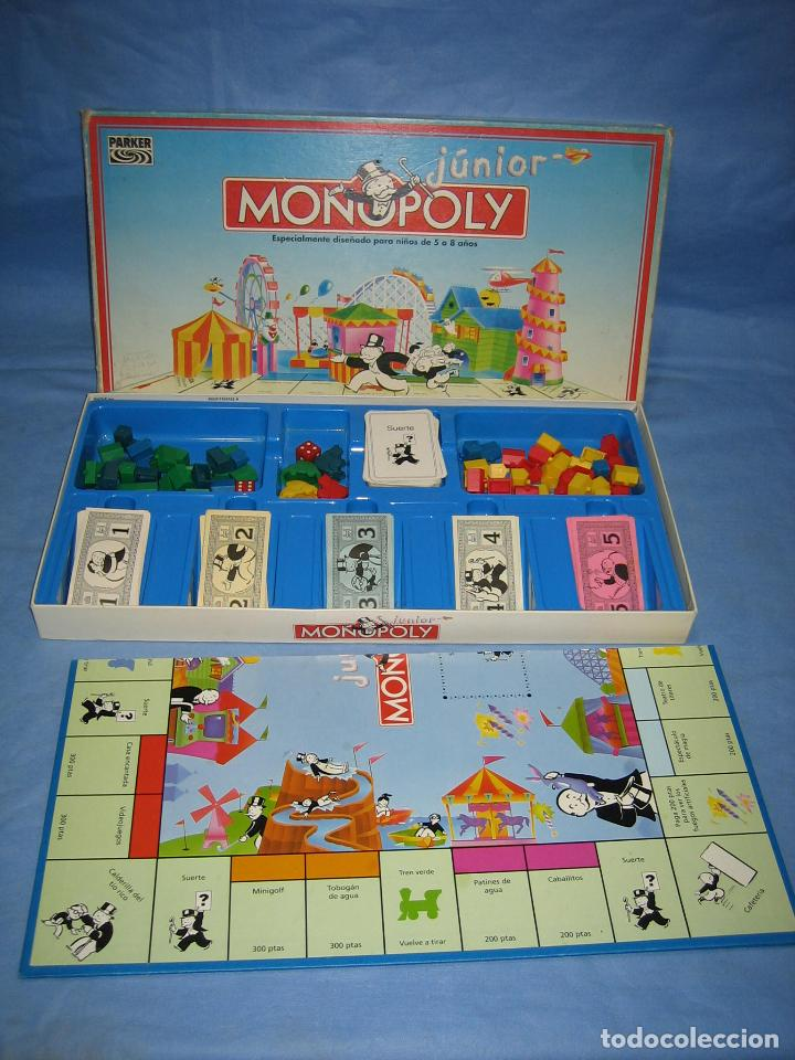 Juego De Mesa Monopoly De Parker Comprar Juegos De Mesa Antiguos