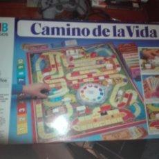 Juegos de mesa: CAMINO DE LA VIDA MB COMPLETO. Lote 203289413