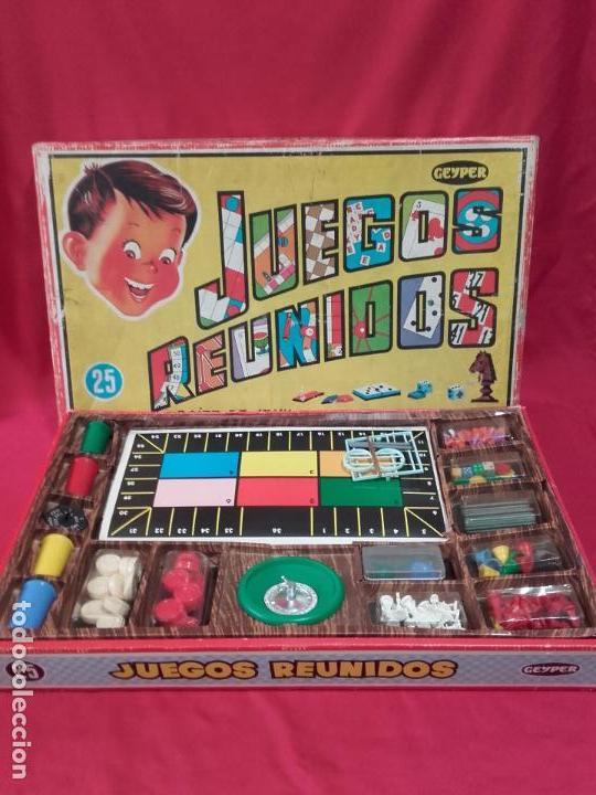 Juegos Reunidos Geyper Fabricado En Espana Ano Comprar Juegos De