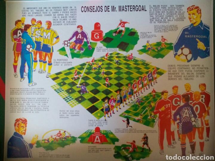 Juegos de mesa: ANTIGUO JUEGO FÚTBOL MASTERGOAL - Foto 3 - 112783154