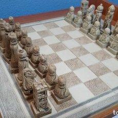 Juegos de mesa: AJEDREZ ARTESANAL REALIZADO EN GALICIA. Lote 112806911