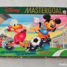 Juegos de mesa: MASTER GOAL DISNEY PLUTO MICKEY DONALD CHIP Y CHOP TIO GILITO ETC MASTERGOAL COMPLETO. Lote 112817835