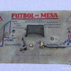 Juegos de mesa: FUTBOL DE MESA – MUY ANTIGUO JUEGO DE MESA - AÑOS 30 40 - MUY RARO .. Lote 112855707