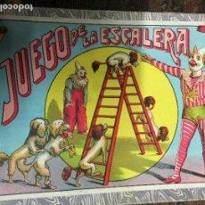 Juegos de mesa: EL JUEGO DE LA ESCALERA . BORRAS. COMPLETO. Lote 112905979