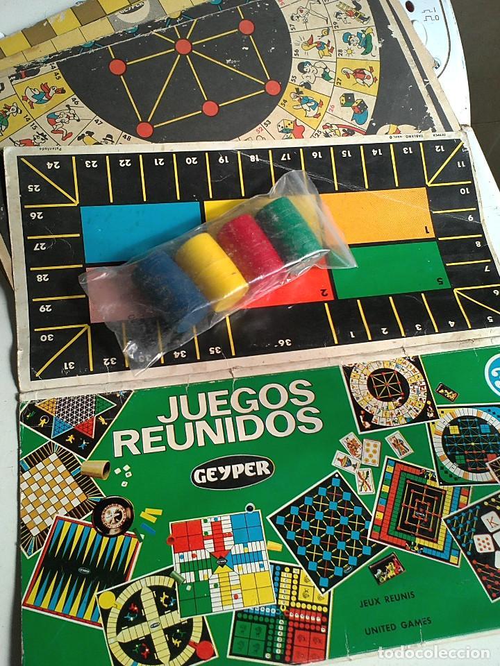 Tableros Juegos Reunidos Geyper 35 Y Cubiletes Comprar Juegos De
