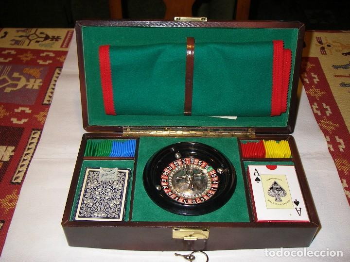 Completa Ruleta Con Juego De Cartas Y Poker Comprar Juegos De