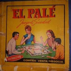 Juegos de mesa: JUEGO DE MESA PALÉ. Lote 113393847