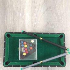 Juegos de mesa: MINI BILLAR-MINI POOL TABLE. Lote 113677631
