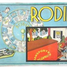 Juegos de mesa: JUEGO DE MESA RODIN. BORRÁS. BUEN ESTADO. CIRCA 1950. . Lote 113805839