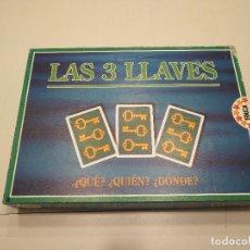 Juegos de mesa: LOTE JUEGO MESA LAS TRES LLAVES DE EDUCA...SALIDA 1 EURO. Lote 113822039