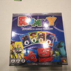 Juegos de mesa: LOTE JUEGO MESA RUMMY DISNEY PIXAR....SALIDA 1 EURO. Lote 113826479