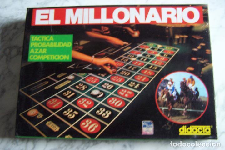 El Millonario De Didacta Juego De Mesa Anos 70 Comprar Juegos De