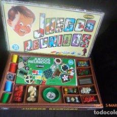 Juegos de mesa: GEYPER JUEGO REUNIDOS 35. Lote 135612839