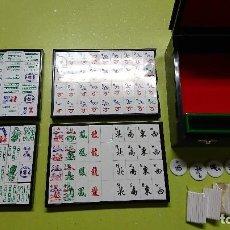 Juegos de mesa: DOMINO CHINO, MAH JONG. Lote 114208343