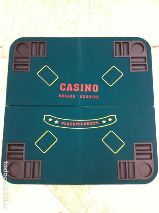 TABLERO MESA JUEGOS CASINO (Juguetes - Juegos - Juegos de Mesa)