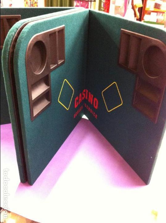 Juegos de mesa: TABLERO MESA JUEGOS CASINO - Foto 2 - 114276875