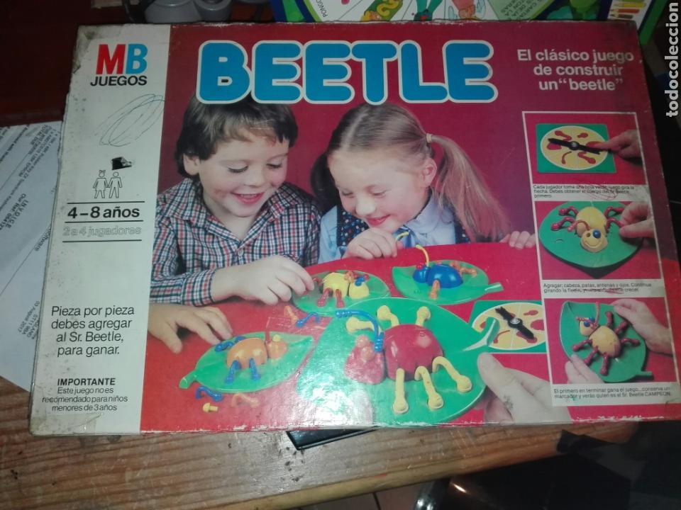 JUEGO DE MESA MB BEETLE (Juguetes - Juegos - Juegos de Mesa)