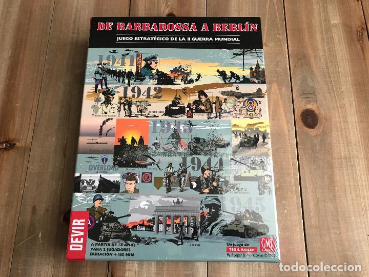 Wargame De Barbarossa A Berlin Devir Prec Comprar Juegos De