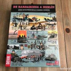 Juegos de mesa: WARGAME - DE BARBAROSSA A BERLÍN - DEVIR - PRECINTADO - GMT - WWII - ESTRATEGIA. Lote 114366563