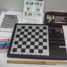 Juegos de mesa: KASPAROV TURBO AVANCED TRAINER RISC STYLE PROCESSOR AJEDREZ ELECTRÓNICO ELECTRONIC COMPUTERS CHESS. Lote 114387711