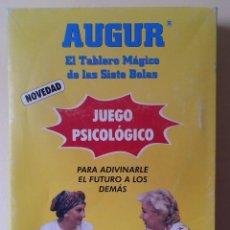 Juegos de mesa: AUGUR. EL TABLERO MÁGICO DE LAS 7 BOLAS - JUEGO PSICOLÓGICO PARA ADIVINARLE EL FUTURO A LOS DEMAS. Lote 114475187