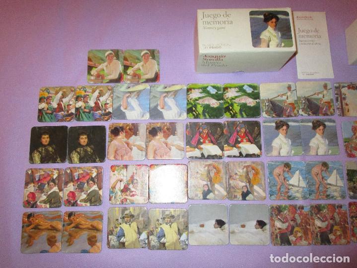 Juegos de mesa: ANTIGUO JUEGO DE MEMORIA DE JOAQUIN SOROLLA DEL MUSEO NACIONAL DEL PRADO - COMPLETO - MEMORY GAME - Foto 2 - 114630823
