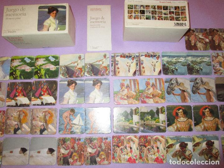 Juegos de mesa: ANTIGUO JUEGO DE MEMORIA DE JOAQUIN SOROLLA DEL MUSEO NACIONAL DEL PRADO - COMPLETO - MEMORY GAME - Foto 3 - 114630823
