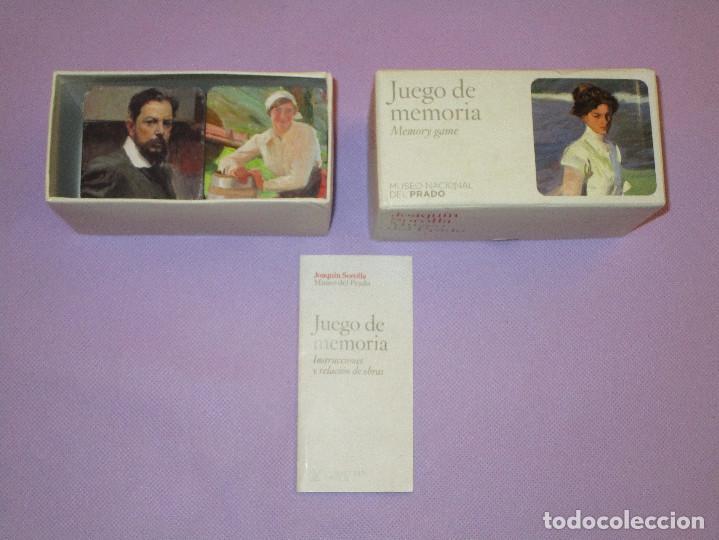 Juegos de mesa: ANTIGUO JUEGO DE MEMORIA DE JOAQUIN SOROLLA DEL MUSEO NACIONAL DEL PRADO - COMPLETO - MEMORY GAME - Foto 5 - 114630823