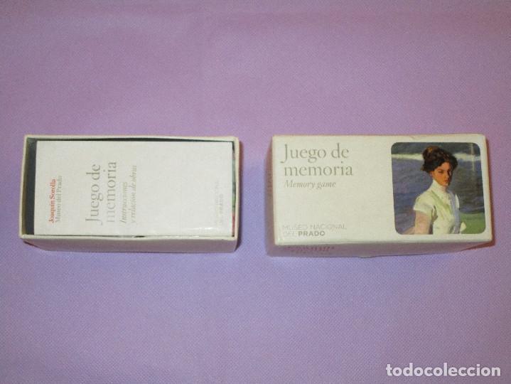 Juegos de mesa: ANTIGUO JUEGO DE MEMORIA DE JOAQUIN SOROLLA DEL MUSEO NACIONAL DEL PRADO - COMPLETO - MEMORY GAME - Foto 6 - 114630823