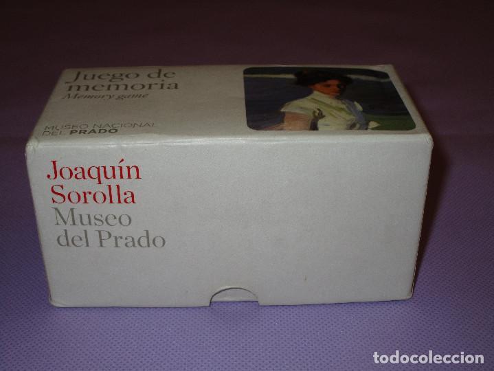 Juegos de mesa: ANTIGUO JUEGO DE MEMORIA DE JOAQUIN SOROLLA DEL MUSEO NACIONAL DEL PRADO - COMPLETO - MEMORY GAME - Foto 8 - 114630823