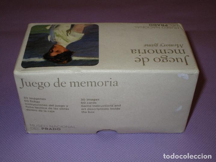 Juegos de mesa: ANTIGUO JUEGO DE MEMORIA DE JOAQUIN SOROLLA DEL MUSEO NACIONAL DEL PRADO - COMPLETO - MEMORY GAME - Foto 10 - 114630823