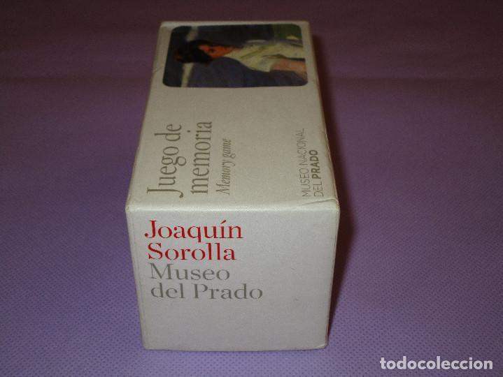 Juegos de mesa: ANTIGUO JUEGO DE MEMORIA DE JOAQUIN SOROLLA DEL MUSEO NACIONAL DEL PRADO - COMPLETO - MEMORY GAME - Foto 11 - 114630823