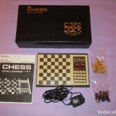 Juegos de mesa: AJEDREZ CHESS CHALLENGER (7) - ELECTRONICO - FIDELITY ELECTRONICS PROEIN S.A. - FUNCIONA. Lote 114650615