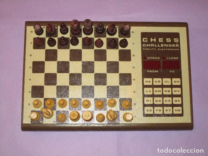 Juegos de mesa: AJEDREZ CHESS CHALLENGER (7) - ELECTRONICO - FIDELITY ELECTRONICS PROEIN S.A. - FUNCIONA - Foto 2 - 114650615