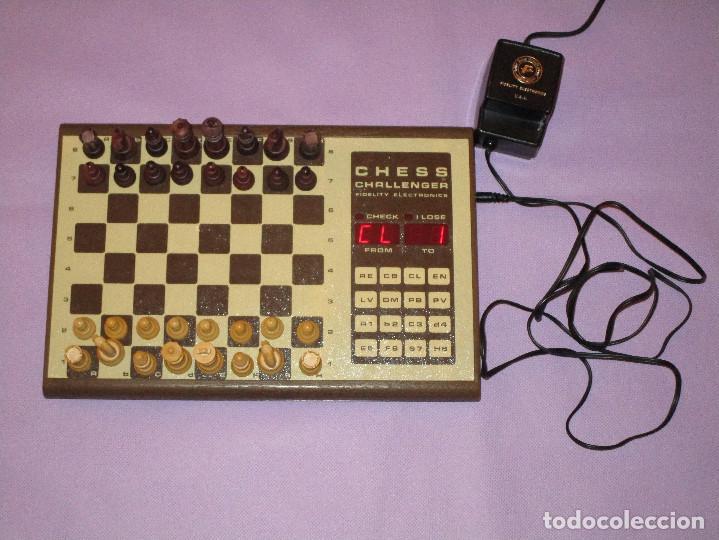 Juegos de mesa: AJEDREZ CHESS CHALLENGER (7) - ELECTRONICO - FIDELITY ELECTRONICS PROEIN S.A. - FUNCIONA - Foto 8 - 114650615