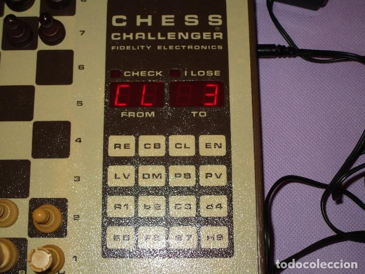 Juegos de mesa: AJEDREZ CHESS CHALLENGER (7) - ELECTRONICO - FIDELITY ELECTRONICS PROEIN S.A. - FUNCIONA - Foto 9 - 114650615