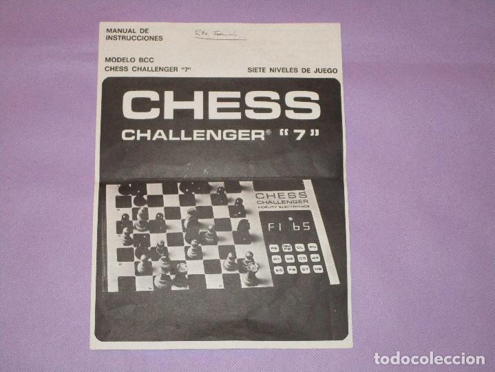 Juegos de mesa: AJEDREZ CHESS CHALLENGER (7) - ELECTRONICO - FIDELITY ELECTRONICS PROEIN S.A. - FUNCIONA - Foto 14 - 114650615