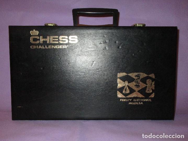 Juegos de mesa: AJEDREZ CHESS CHALLENGER (7) - ELECTRONICO - FIDELITY ELECTRONICS PROEIN S.A. - FUNCIONA - Foto 24 - 114650615