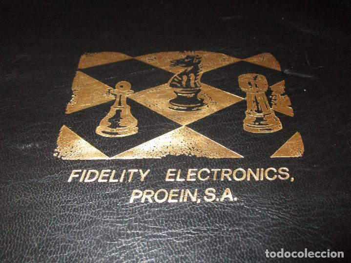 Juegos de mesa: AJEDREZ CHESS CHALLENGER (7) - ELECTRONICO - FIDELITY ELECTRONICS PROEIN S.A. - FUNCIONA - Foto 33 - 114650615