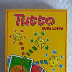 Juegos de mesa: JUEGO DE MESA/TUTTO/ABACUS SPIELE/NUEVO¡¡¡¡¡¡¡. Lote 114780935