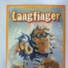 Juegos de mesa: JUEGO DE MESA/LANGFINGER/PEGASUS SPIELE/NUEVO¡¡¡¡¡¡¡. Lote 114782515