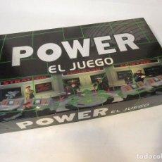 Juegos de mesa: POWER EL JUEGO. JUEGOS SPEAR. 1996. ROL. ESTRATEGIA. COMPLETO.. Lote 148667074