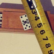 Juegos de mesa: DOMINÓ MINIATURA 2X1CM . Lote 114904243